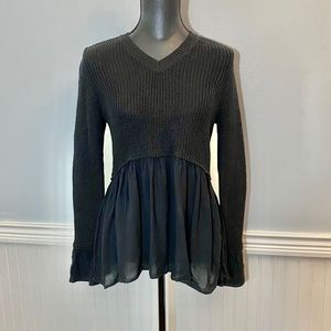 NWT Altar'd State Sweater Black Small